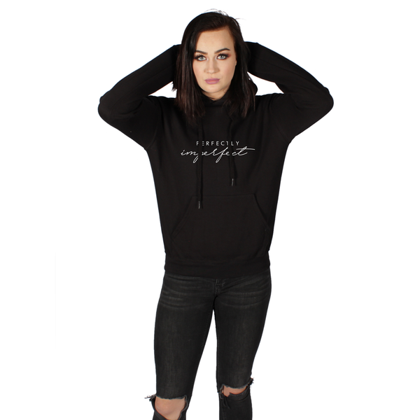 Unisex hoodie – perfectly imperfect