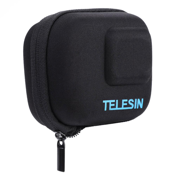 Telesin portable action camera protective carrying case bag