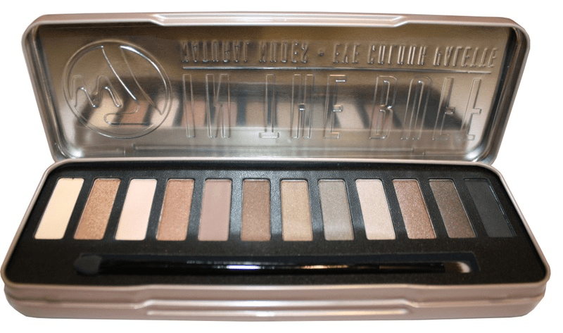 W7 in the buff natural nudes palette