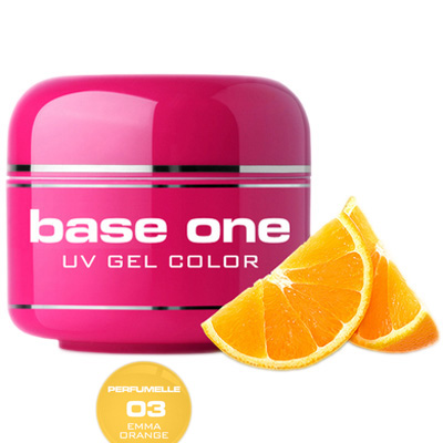 Base one – uv gel – perfumelle – emma orange – 03 – 5 gram