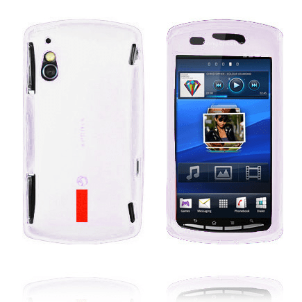 Incover (vit) sony ericsson xperia play skal