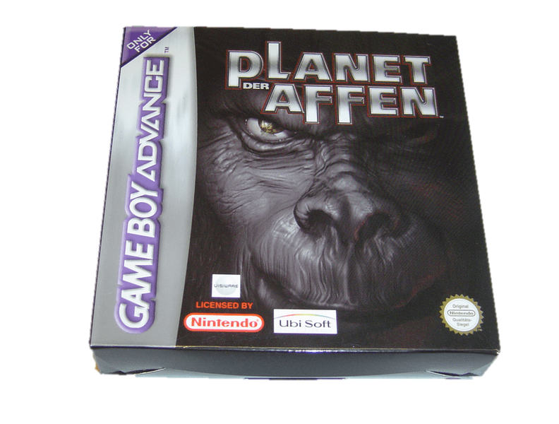 Planet of the apes gameboy advance gba