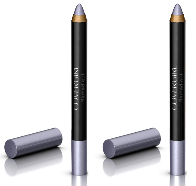 2st covergirl flamed out eyeshadow pencil – 300 silver falme