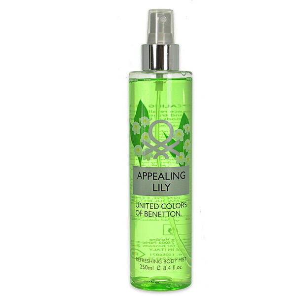 Benetton appealing lily refreshing body mist 250ml