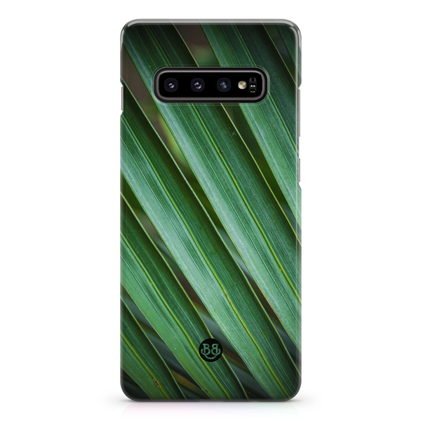 Bjornberry samsung galaxy s10 premiumskal – green leaves