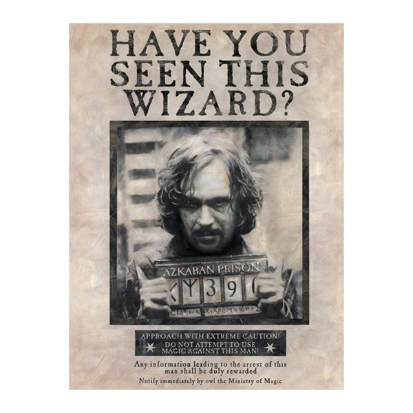 Harry potter maxi poster – sirius black