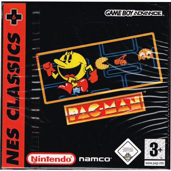 Pac-man nes classics gameboy advance