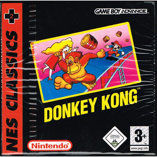 Donkey kong nes classics gameboy advance