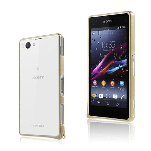 Remes sony xperia z1 compact bumper – champagne