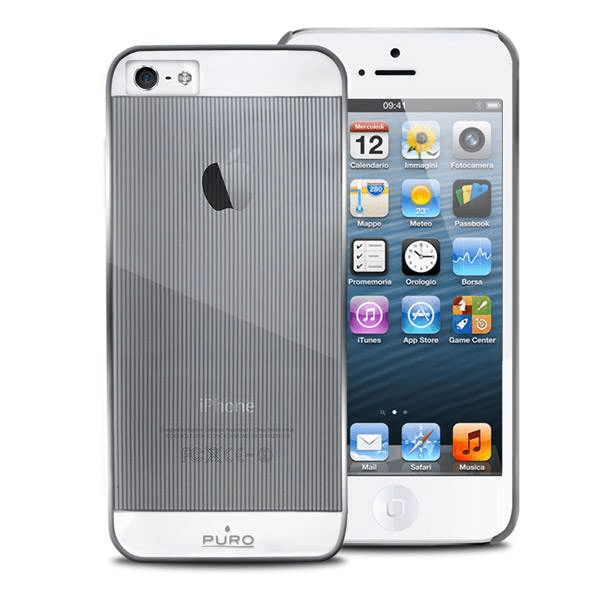 Iphone 5/5s skal silver