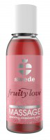 Swede fruity love massageoil sparkling strawberry 50 ml