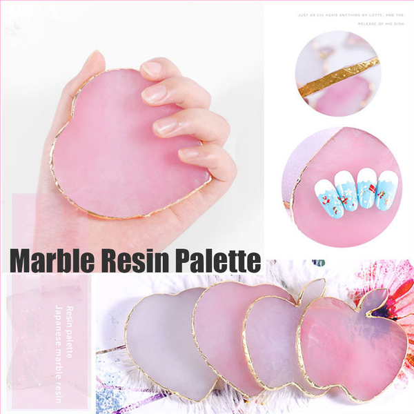 Color mixing palette nail painting pigment holder display board