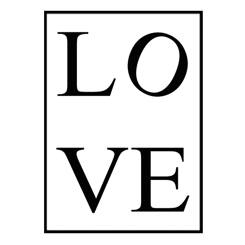 Poster Poster Poster - Love no.1 40x50cm 153be4