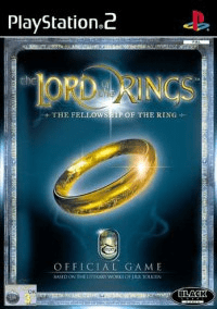 Lord of the rings – the fellowship of the ring – ps2