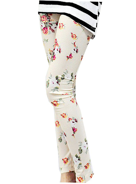 Leggings blommor