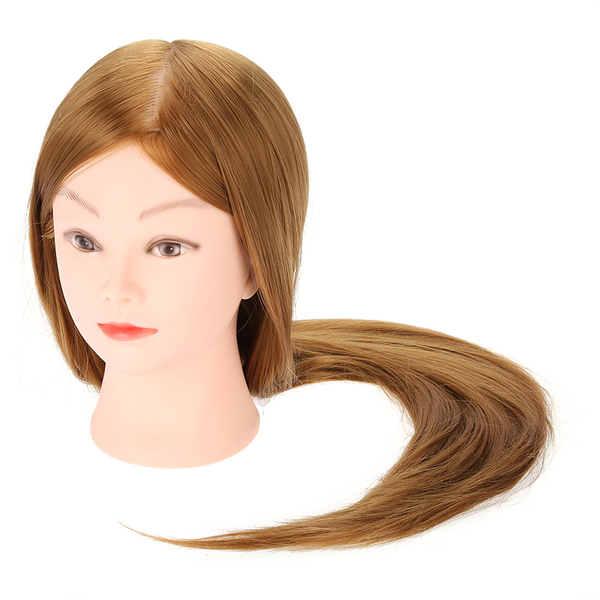 Hair styling practice hairdressing training head wig mannequ