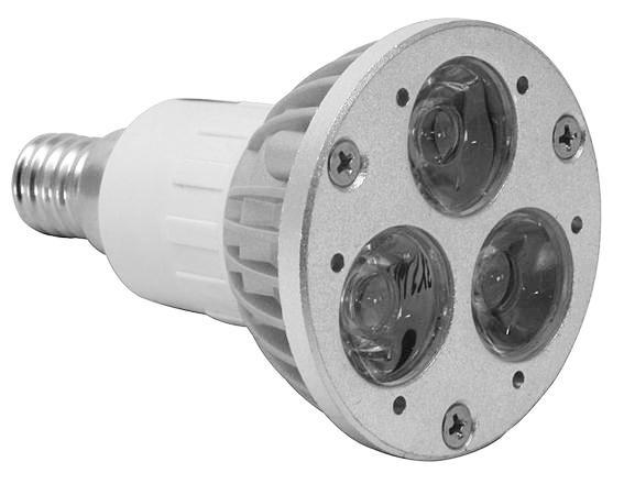 Led lampa e14 3w 6-pack