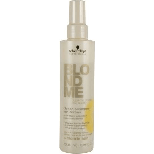 Schwarzkopf blondme blonde enhancing sun screen 200 ml