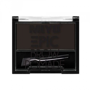 Miyo epic brow pomade – 02 rebellious brown