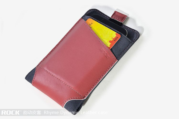 Rock dynamic pouch till iphone 4 / 4s / 3gs (rose red)