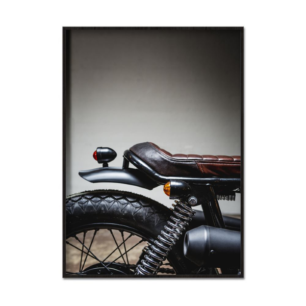 Poster A3 30x42cm The Old Moped