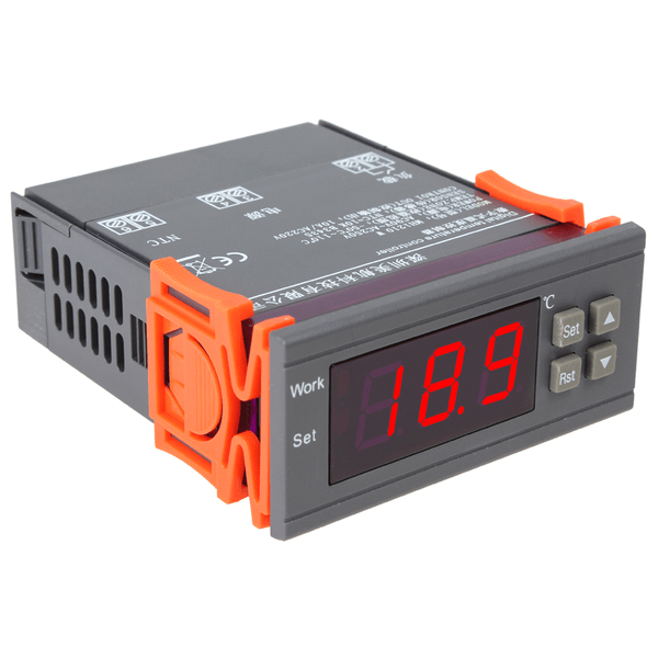 Temperaturregulator, PID-regulator 12V 12V 12V e673ab