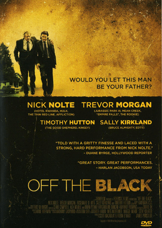 Off the black (dvd) dramakomedi med nick nolte