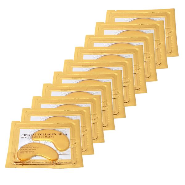 Gold collagen under eye treatment mask anti wrinkle 50 pairs