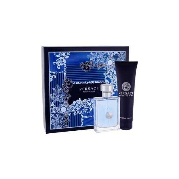 Giftset versace pour homme edt 100ml + shower gel 150ml