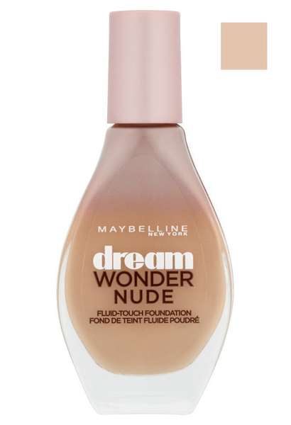 Maybelline dream wonder nude fluid-touch foundation – 30 sand