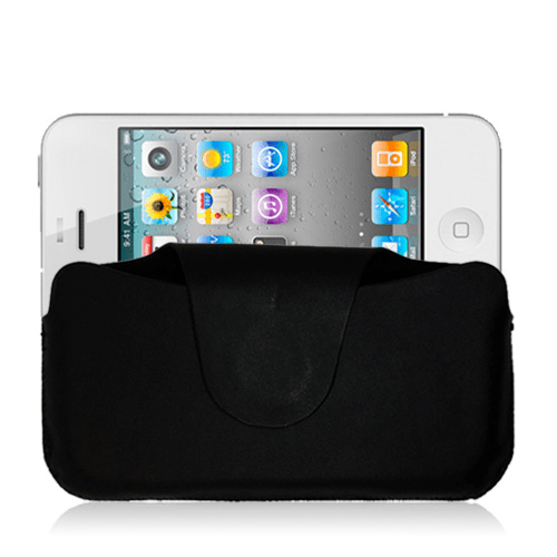 Business pouch (svart) iphone 4/4s fodral