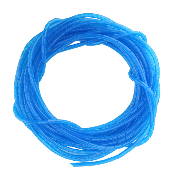 10m spiral cable wrap tidy hide binding wire management pc t