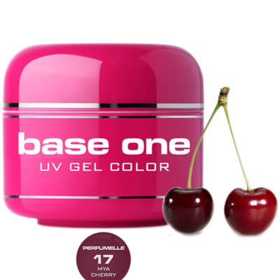 Base one- uv gel – perfumelle – mya cherry – 17 – 5 gram