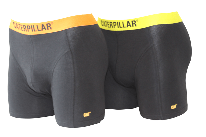 CAT 2-P BOXER svart with Fluo waistband