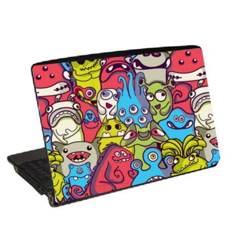 Laptopdekor laptop skin monster