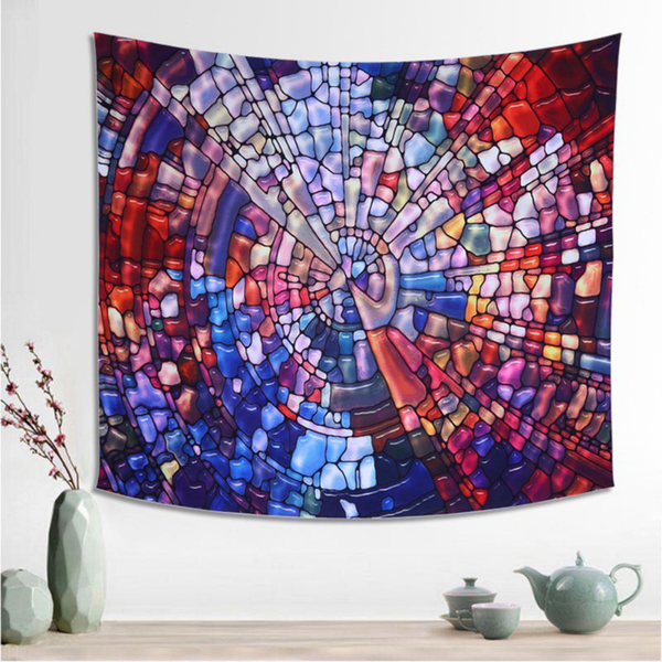 Hanging wall tapestry home decor yoga beach towel