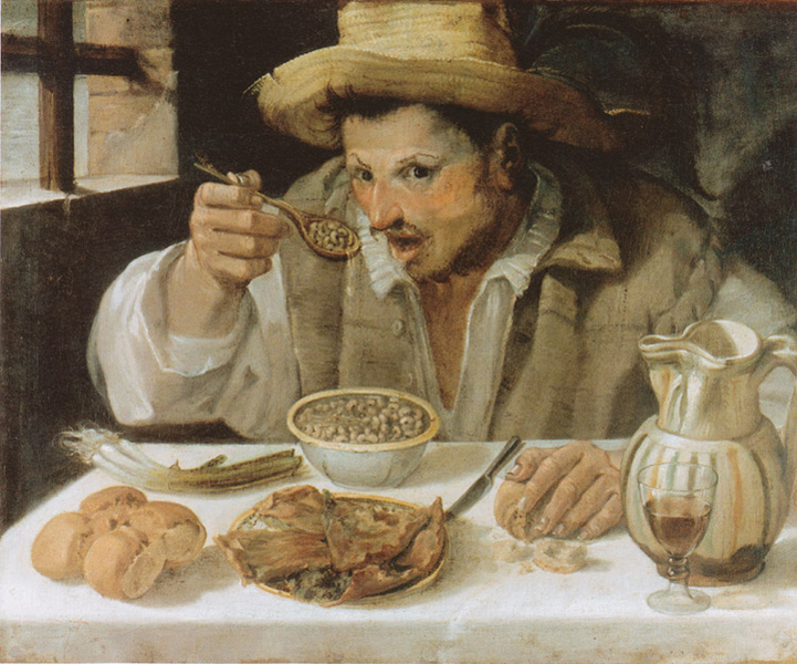 The Beaneater,Annibale Carracci,57x68cm