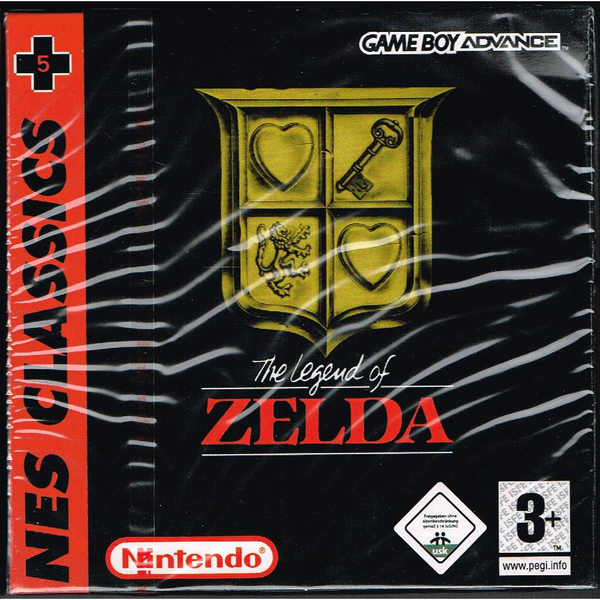 The legend of zelda nes classics gameboy advance