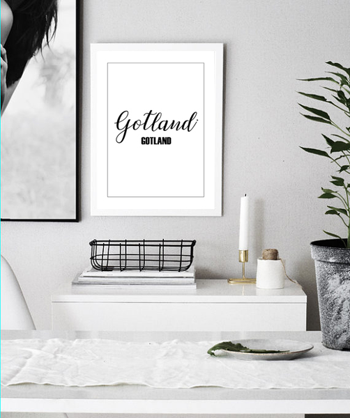 Poster Poster Poster - Gotland ram 30x40cm c5ab63