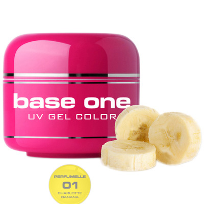 Base one – uv gel – perfumelle – charlotte banana – 01 – 5 gram