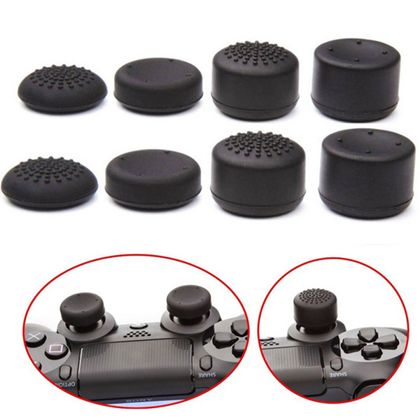 8x silicone replacement key cap pad for ps4 controller gamepad g
