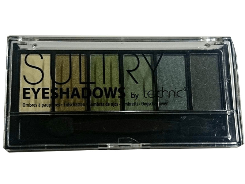 Technic shimmer sultry eyeshadow kit – moss