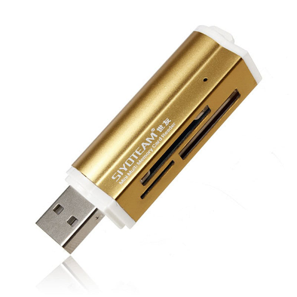 All-in-one usb minneskortsläsare