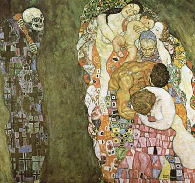 Death and and and Life,Gustav Klimt,50x50cm d83728