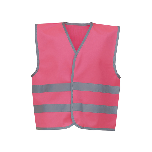 Yoko hi-vis childrens/kids reflective border waistcoat (pack of