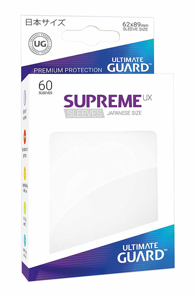 Ultimate Guard Supreme UX Matte Sleeves Japanese Storlek 60-Pack