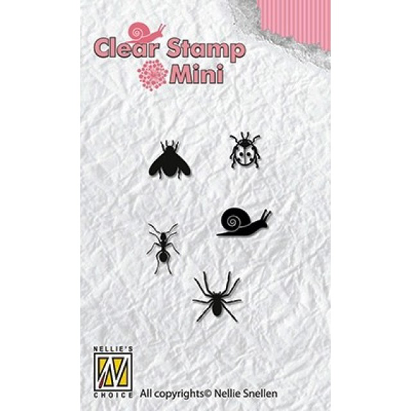 Clearstamps mini – nellie snellen – critters