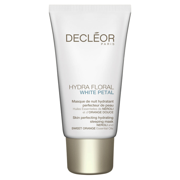 Decleor hydra floral white petal perfecting hydrating sleeping m
