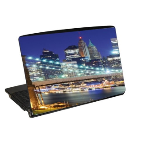 Laptop skin new york dekor