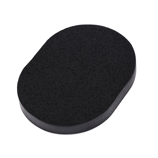 Soft bamboo charcoal wash face deep cleaning sponge puff makeup